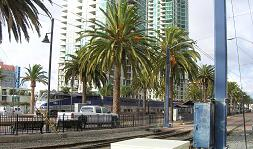 cross country train trip, Santa Fe Depot, Amtrak Station, San Diego