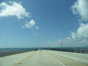 Driving to Key West